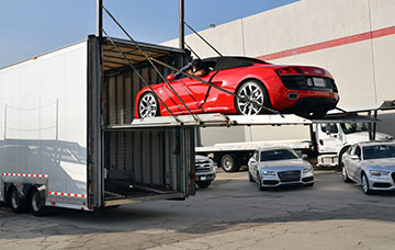 Enclosed Truck Carrier Auto Transport - Lone Star Car Transportation